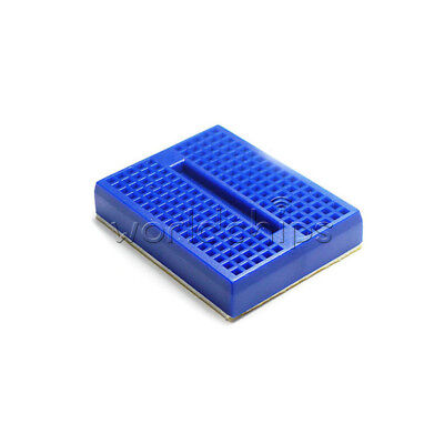 2Pcs Mini Solderless Prototype Breadboard 170 Tie-points for Arduino Shield Blue