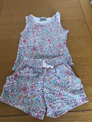 Next Vest And Shorts Age 3-4