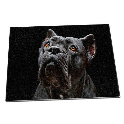 Cane Corso Dog Animal Glass Chopping Board 067