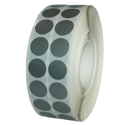Adhesive Points Woven Tape Ø 30mm Silver 1 Reel 3000 round Blanks Gaffer Duct