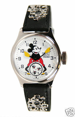 Disney Mint Mickey Mouse 2 Ingersoll reproduction watch Pedre