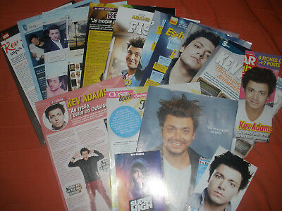 Lot Kev Adams Clippings,Cartes,Poster Neuf