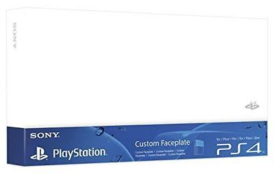 Sony Official PlayStation 4 Custom Faceplate White PS4 Brand New Sealed