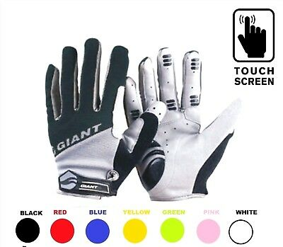 Winter Touch Screen Cycling Gloves GIANT MTB BMX Bicycle Bike Full Finger Cycle