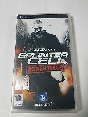 psp tom clancys splinter cell essentials