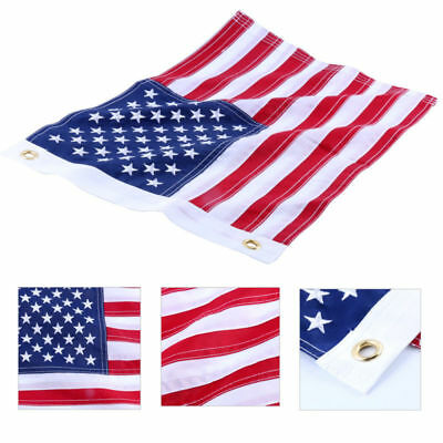 US American Flag 12x18'' for Boat, yacht, Workplace ,Home, Business& Outdoor Use