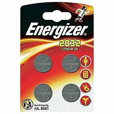 Energizer Knopfzelle CR2032 Packung 4 Eco Packung CR 2032