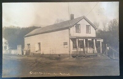 Brookside NJ Store and Post Office real photo postcard used 1911