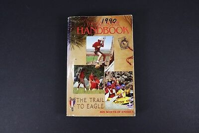 The Boy Scout Handbook Vintage Boy Scouts of America The Trail To Eagle 1990