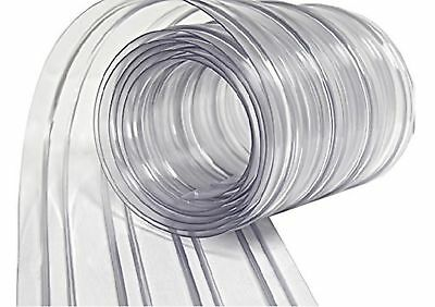 "Strip Curtain Direct-8""x 150' roll Strip Door Curtain for Freezers and Bay Doors"