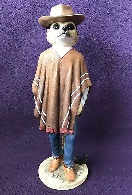 "COUNTRY ARTISTS MAGNIFICENT MEERKATS CA04493 ""Cowboy"" CLINT EASTWOOD"