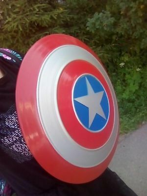 New Avengers Captain America Full Metal Shield Replica Cosplay FAST SHIPPING