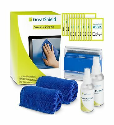 Screen Cleaning Kit, GreatShield LCD Computer Screen Cleaner [Microfiber Clot...