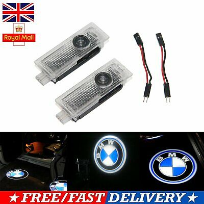 2X BMW Car Door Lights LED Courtesy Laser Welcome Projector Logo Shadow Lamps