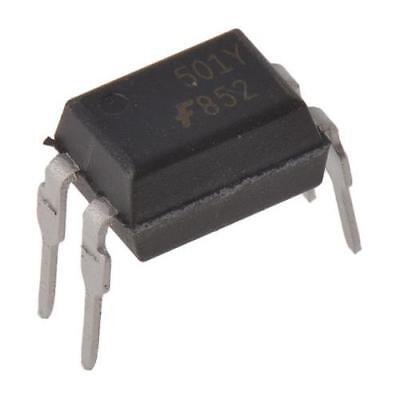 10 x ON Semiconductor, FOD852 DC Input Photodarlington Output Optocoupler, 4-Pin