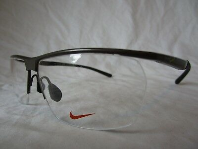 9a4e9df425 Nike 6060 Eyeglass Frame Nk6060 Titanium 067 Gunmetal 58-13-140 New    Authentic