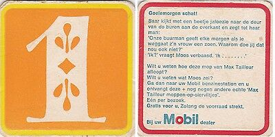 Old Mobil Coaster From The Netherlands  Ap14009