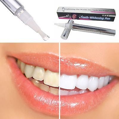 1/4x Teeth Whitning Gel Pen Absolute White Stain Remover Tooth Whitener Delicate