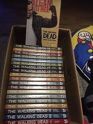 The walking dead comics 1-19 Hardcover Top Zustand Neuwertig Ungelesen