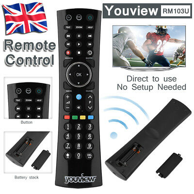 Youview Remote Control Humax DTR-T2000 DTR-T1000 Replacement Genuine Original UK