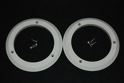 Otari MTR 90 MK I Reel Turntable Hub Surrounds Pair With Screws