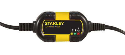 Stanley 12V AUTOMATIC BATTERY CHARGER / MAINTAINER 1A CAR SUV BOAT MOTO ATV VAN