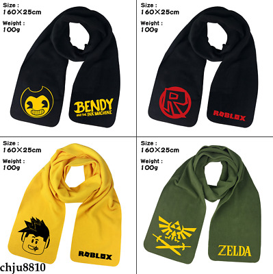Game Roblox Bendy and the ink machine Men/Women's Long Soft Scarf Wool Scarves