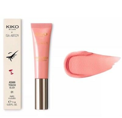 KIKO ASIAN TOUCH BLUSHBlush alta pigmentazione facile da sfumare 01 ASPIRANTION