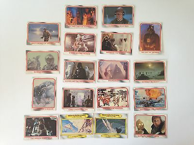 1980 Lucasfilm Star Wars Empire Strikes Back Cards