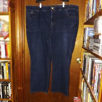 Lane Bryant Blue Jeans Boot Cut Tighter Tummy Technology - 28 Short