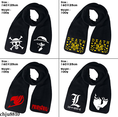 2b4f9e8e414 Anime My Boku no Hero Academia Death Note Unisex Soft Scarf Winter Wool  Scarves