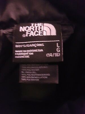 Boys the north face jacket large,13 /14 Year Old