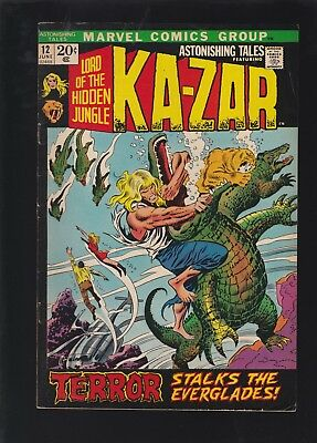 Astonishing Tales #12 1st Bobbi Morse By Name! 2nd Man-Thing Appearance!