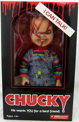Childs Play Bride Of Chucky Action Figure Mega Scale Series - Talking Chucky