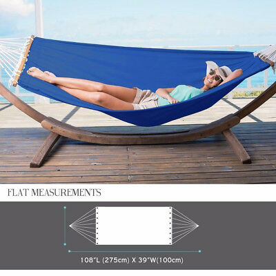 Camping Double Hammock with Spreader Bar Outdoor  Tent Lightweight Travel