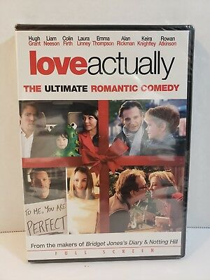 Love Actually (DVD, 2004, Full Frame Edition)
