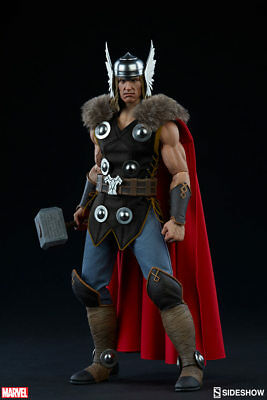 Marvel Collectible 12 Inch Action Figure 1/6 Scale Series - Thor Sideshow 100172