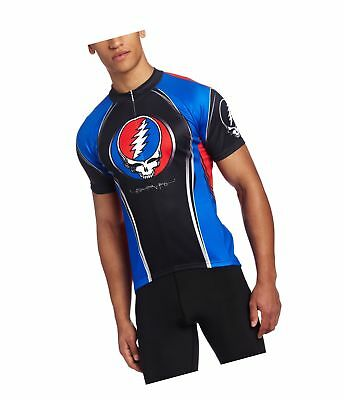 e6b230337 Primal Wear Men s Grateful Dead Team Steal Your Face Jersey Blu... 2DAY  DELIVERY