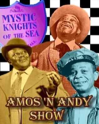 Amos and Andy All 74 Episodes DIGITALLY RESTORED Complete DVD Set	n'