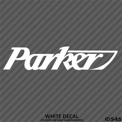 Parker Boats Car/Truck Decal Outdoors Sports & Boating - Choose Color