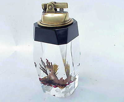 WONDERFUL Vintage Fox Acrylic Cigarette Lighter St Armands Key Sarasoda FL