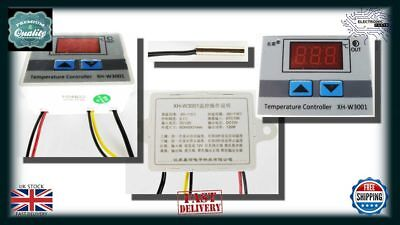 12V Digital LED Temperature Controller Thermostat Control Switch Probe NN010