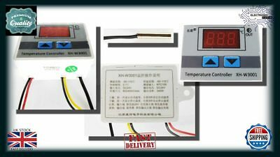 24V Digital LED Temperature Controller Thermostat Control Switch Probe NN011