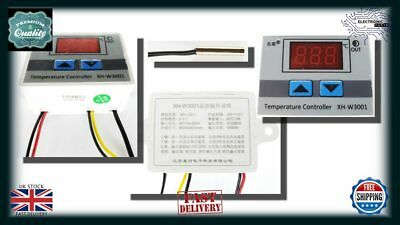 220V Digital LED Temperature Controller Thermostat Control Switch Probe NN012