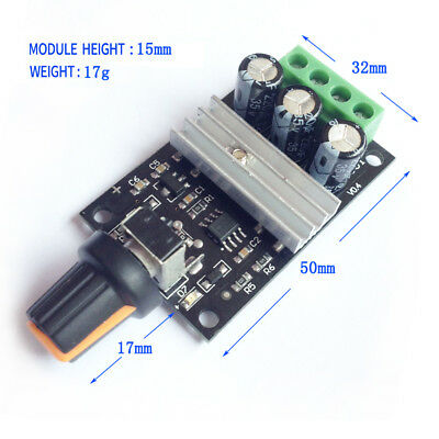 Motor Speed Controller 6V/12V/24V/28V 3A PWM Variable Regulator DC Speed Y2W6O