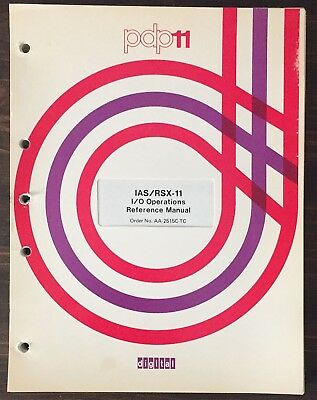 Digital DEC PDP-11 RSX-11M RMS-11 I/O Operations Reference Manual 1977