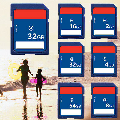 2GB-64GB SD Card Memory Card Class 4 For Camcorder CANON Nikon Digital Cameras