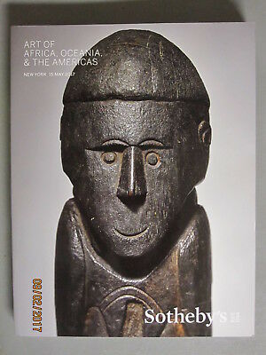 Sotheby 5/15/17 Art of Africa Tribal Oceania & the Americas Pre Columbian
