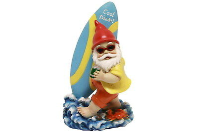 NEW Surfing Gnome | Polyresin 25cm Surf Gnomes Surfs Novelty Gift | ihartTOYS