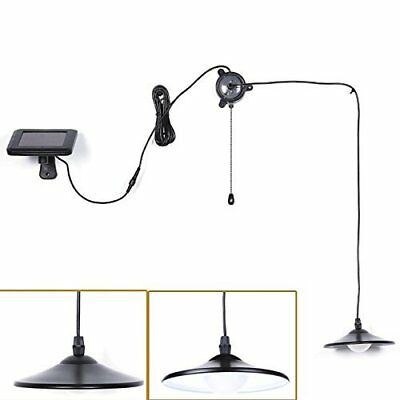 Solar Lights Kyson Solar Powered Led Shed Light Remote Control Pull Cord In Out